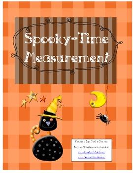 1st Grade Halloween Common Core Frameworks Unit 1 Data and Measurement