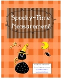 1st Grade Halloween Common Core Frameworks Unit 1 Data and