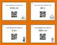 Halloween Math: Metric Length Conversions QR Code Task Cards
