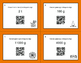 Halloween Math: Metric Weight Conversions QR Code Task Cards