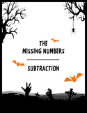 Halloween Math: Missing Numbers - Subtraction
