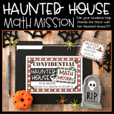 Halloween Math Mission: Haunted House