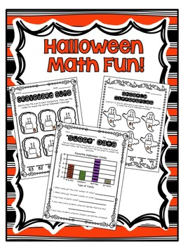 Halloween Math Morning Work