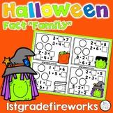 Halloween Math Mountains & Fact Families