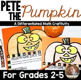 Halloween Math Craftivity: Multi-Step Word Problem Activity for Grades 2-5