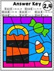 Halloween Math | Multiplication Color by Number Worksheets