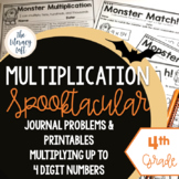 Halloween Math {Multiplication for 4th Grade}