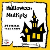 Halloween Math Multiply ... Facts ... Grade 3 .... Internet Paperless Digital
