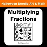 Halloween Math: Multiplying Fractions - Doodle Art & Math