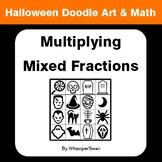 Halloween Math: Multiplying Mixed Fractions - Doodle Art & Math