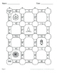 Halloween Math: Multiplying Mixed Fractions Maze