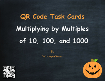 Halloween Math: Multiplying by Multiples of 10, 100, and 1