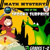 Halloween Math Mystery 5 W's Structure: Case of the Spooky Surprise!