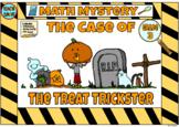 Halloween Math Mystery Grade 3