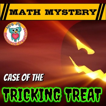 Halloween Math Mystery - Grades 1 - 8 Differentiated bundle.