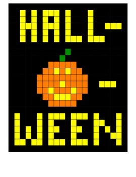 Halloween Math Mystery Picture Addition & Multiplication Versions Basic Facts