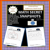 Halloween Math Mystery Pictures Ordered Pairs Quadrant One