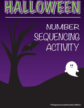 Halloween Math Number Sequencing