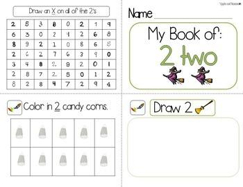 Halloween Math Number Super Bundle for Pre-K and Kindergarten