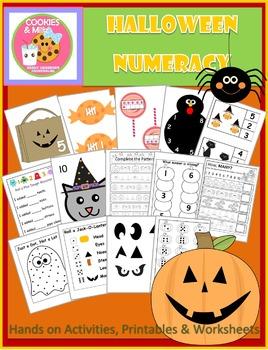 Halloween Math & Numeracy Activities & Printables For Preschool