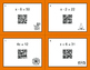 Halloween Math: One Step Equations (Mixed Operations) QR C
