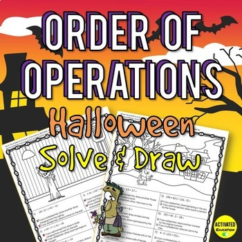 Halloween Math Order of Operations