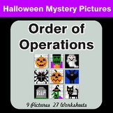 Order of Operations - Color-By-Number Halloween Mystery Pictures