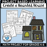Halloween Math PBL Project Based Learning Spooky Haunted House