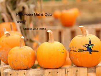 Halloween Math POWERPOINT FUN QUIZ