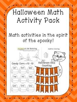 Halloween Math Pack