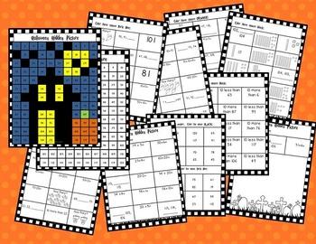 Halloween Math Activity Pack- 1st Grade Standards!