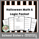 Halloween Math & Puzzles Packet