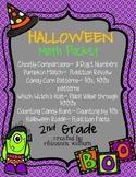 Halloween Math Packet Grade 2