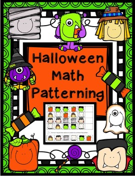 Halloween Math Patterning