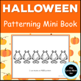 Preschool and Kindergarten Halloween Patterns Activity Book