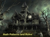 Halloween Math Patterns and Rules