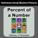 Halloween Math: Percent of a Number - Color-By-Number Myst