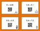 Halloween Math: Percents to Decimals QR Code Task Cards