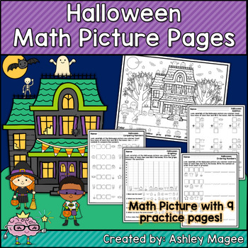 Halloween Math Picture Pages