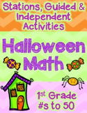 Halloween Math First Grade Number Sense