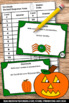 Halloween Place Value Activities & Games with DECIMALS Tas