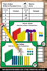 Halloween Math Activities & Games, Place Value Base Ten Blocks Task Cards
