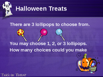 Halloween Math Powerpoint Investigation