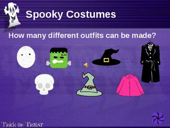 Halloween Math Powerpoint Investigation