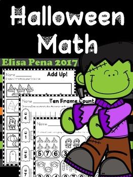 Halloween Math Printables