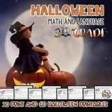 Halloween Math Printables - Third Grade