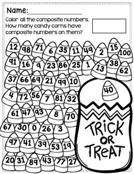 Halloween Math Printables and Activities for Big Kids FUN AND EASY PREP