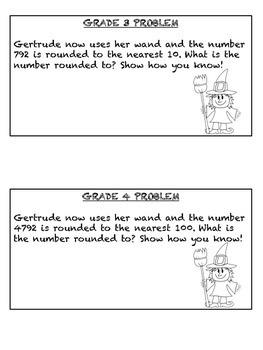 Halloween Math Problems