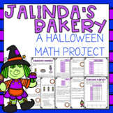 Adding & Subtracting Fractions Elapsed Time Halloween Math Activity Grade 3 & 4