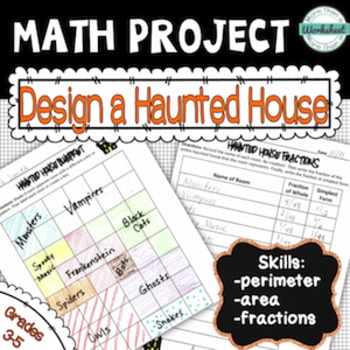 Design A House Math Project on house physics project, house design project, house science project, house food project, house art project,